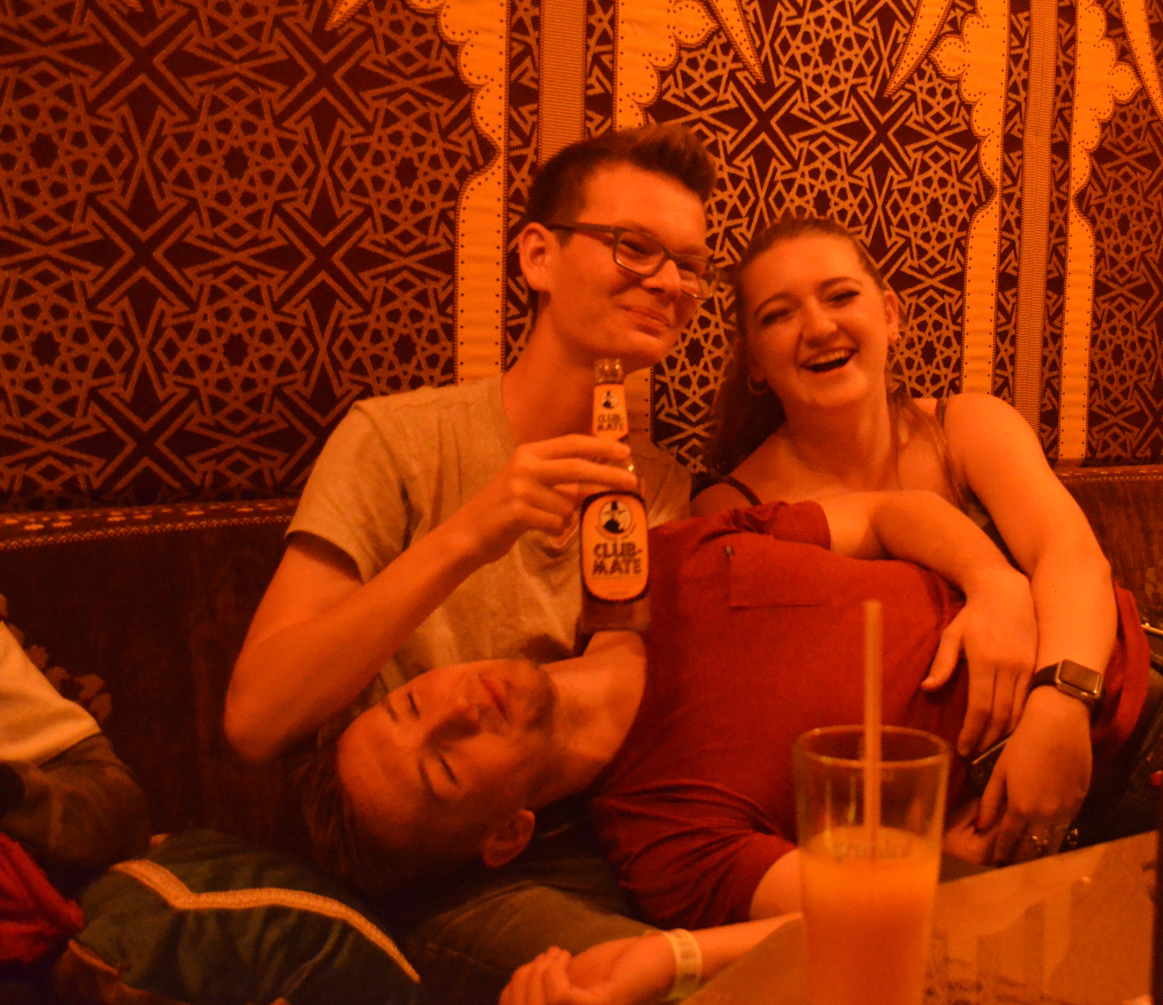 Students in a bar